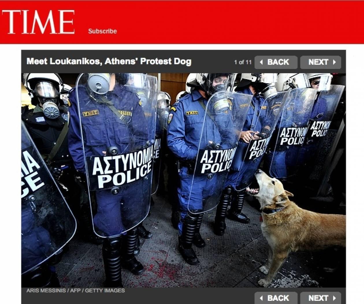 Λουκάνικος: Όταν ένας σκύλος γινόταν πρόσωπο της χρονιάς στο TIME