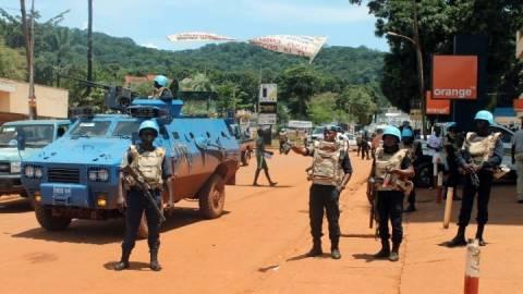 Νεκρός κυανόκρανος του ΟΗΕ στην Κεντροαφρικανική Δημοκρατία
