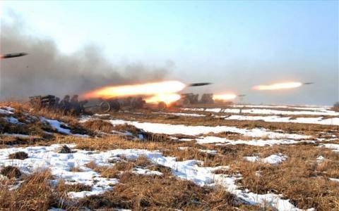 Πυρά πυροβολικού αντάλλαξαν Βόρεια και Νότια Κορέα
