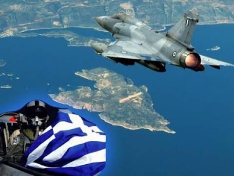 Συνεχίζονται οι τουρκικές προκλήσεις–24 παραβιάσεις στο Αιγαίο