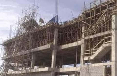 ΕΛΣΤΑΤ: Πτώση  στην οικοδομική δραστηριότητα τον Ιούλιο