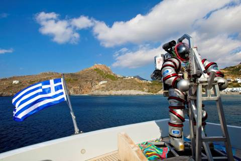 Με σημαντικά ευρήματα ολοκληρώθηκε η α' φάση της έρευνας για το ναυάγιο των Αντικυθήρων
