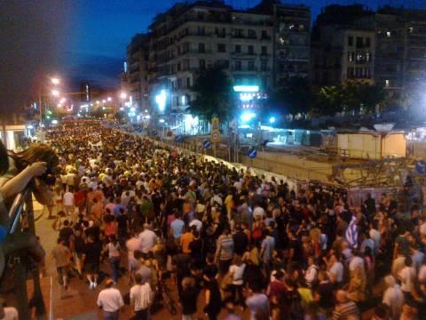 Θεσσαλονίκη: Πορεία κατά της διαγραφής των «αιώνιων φοιτητών»