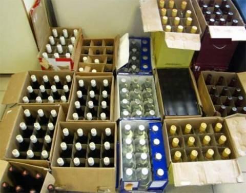Θεσσαλονίκη: Κατασχέθηκαν σχεδόν 2.000 φιάλες με λαθραία ποτά