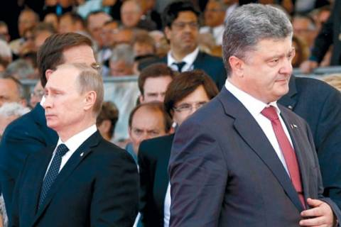 Συνάντηση Πούτιν – Ποροσένκο στο Μιλάνο