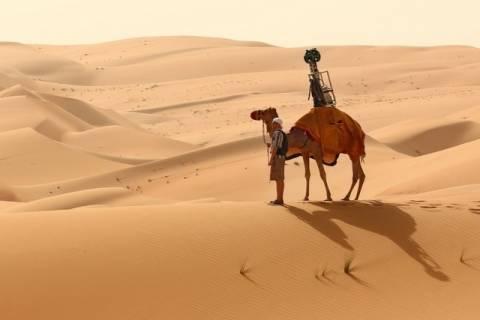 Η Google χαρτογράφησε και την έρημο!