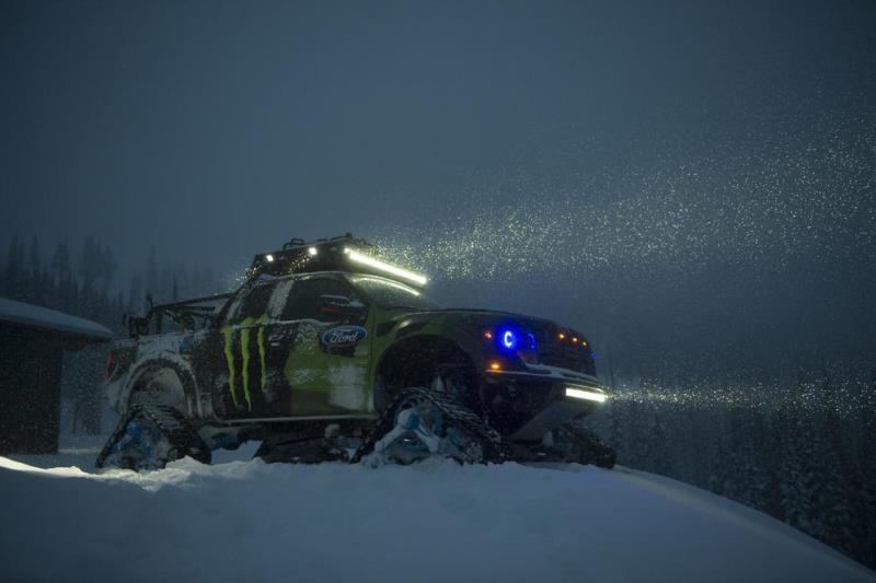Ford: Ο Ken Block παίζει στο χιόνι