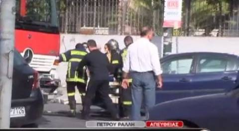 Ένα παιδάκι 10 ετών νεκρό στο τροχαίο της Πέτρου Ράλλη (vid)