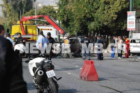 Θανατηφόρο τροχαίο στην Πέτρου Ράλλη: Δύο νεκροί και τρεις τραυματίες