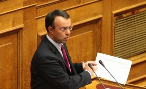 Σταϊκούρας: Εκτός ύφεσης η Ελλάδα το 2015