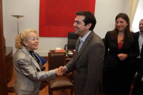 Συνάντηση του Αλ. Τσίπρα με τους προέδρους των Δικαστικών Ενώσεων