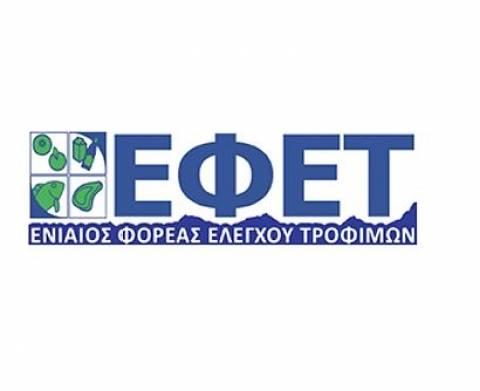 ΕΦΕΤ: Ανάκληση αλλαντικών προϊόντων