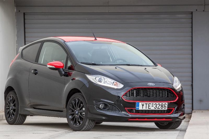 Ford: Fiesta Red Edition και Fiesta Black Edition, Τα ισχυρότερα αυτοκίνητα 1.000 κ