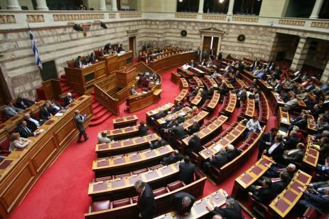 Βουλή: Ονομαστική ψηφοφορία για τη χρηματοδότηση των κομμάτων