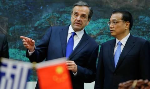 Οι σχέσεις Ελλάδας - Κίνας στη συνάντηση Σαμαρά - Κετσιάνγκ