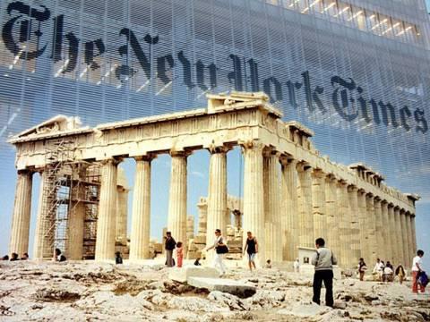 New York Times: «Η αυτοπεποίθηση αναδύεται ξανά»