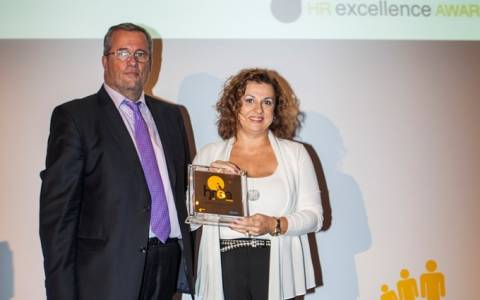 Αργυρό βραβείο για τη Roche Hellas στα HR Excellence Awards