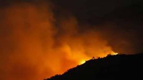 Κρήτη: Νέο πύρινο μέτωπο ξέσπασε στο δήμο Μαλεβιζίου