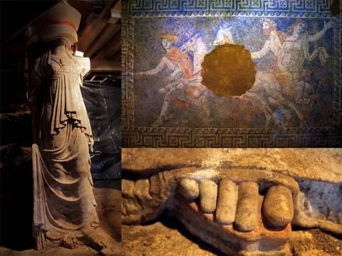 Αμφίπολη: Αυτά είναι τα εντυπωσιακά ευρήματα που έχουν «μαγέψει» όλη την υφήλιο