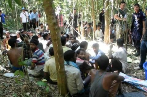 Διάσωση δεκάδων σκλάβων σε ζούγκλα της Ταϊλάνδης (vid)
