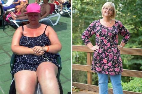 «Η απώλεια βάρους με βοήθησε να βρω τον όγκο στο στήθος μου»