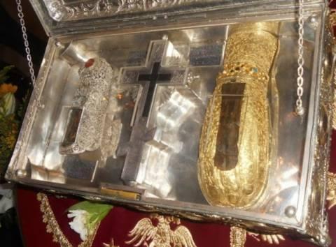 Στα Τρίκαλα το χέρι της Αγίας Μαρίας της Μαγδαληνής