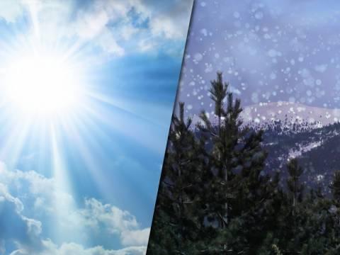Καιρός: Έρχονται τα πρώτα χιόνια