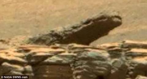 Ένας... κροκόδειλος στον πλανήτη Άρη