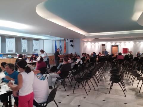 Ίλιον: Ρεκόρ συμμετοχής στη διήμερη εθελοντική αιμοδοσία του Δήμου