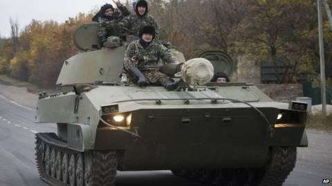 Ουκρανία: Ο ουκρανικός στρατός χρησιμοποιεί βόμβες διασποράς