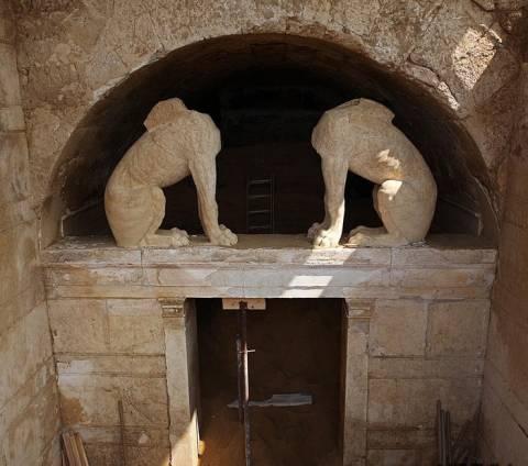 Αμφίπολη: Δείτε πώς ήταν η Σφίγγα - Γραφική αναπαράσταση (pic)