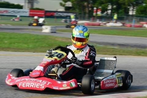 Championkart 2014: Ο Άγγελος Σταθακόπουλος στο Διεθνή Τελικό