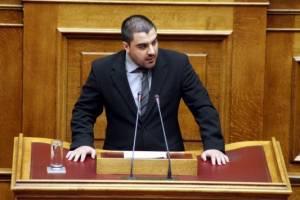 Nέα άρση ασυλίας για το βουλευτή της Χρυσής Αυγής Α. Ματθαιόπουλο