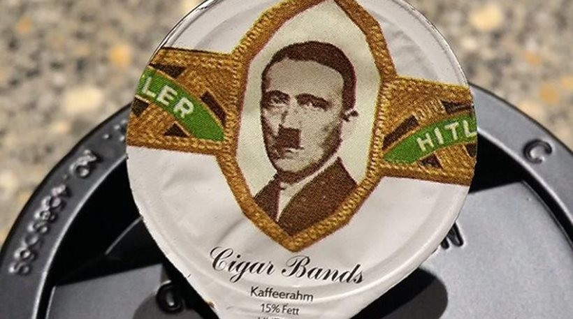 Ελβετία: Εστιατόρια σέρβιραν γάλα με το πορτρέτο του Χίτλερ (pics)