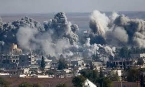 Συρία: Αυξάνονται οι νεκροί από τις αεροπορικές επιδρομές κατά του Ι.Κ.