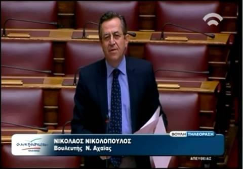 Νίκος Νικολόπουλος: Ο κ. Α. Γεωργίου υπηρετεί το ΔΝΤ ή τον λαό;