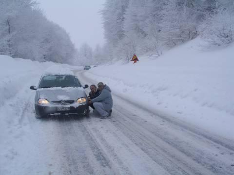 Χιόνια στη Βόρεια Ελλάδα - Πού χρειάζονται αλυσίδες