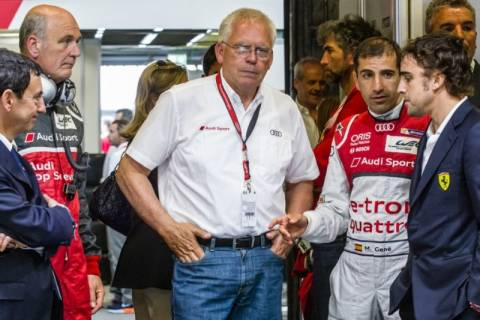 F1: Η Audi στην F1 το 2016 με οδηγό τον F. Alonso