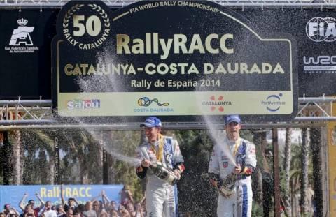 WRC Ισπανίας 3η ημέρα: Νίκη και (δεύτερος) τίτλος