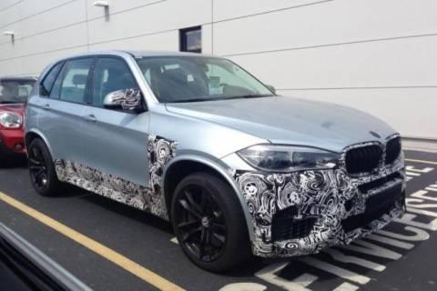 BMW: Οι κατασκοπευτικές φωτογραφίες της X5 M