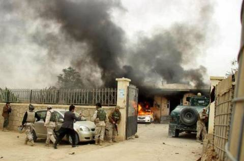 Αφγανιστάν: Αιματηρή επίθεση Ταλιμπάν σε δικαστήριο (vid)