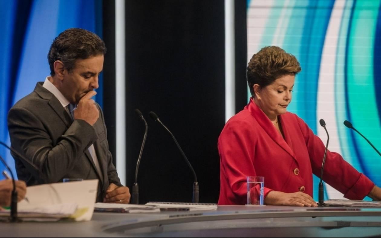 Βραζιλία: Παραδέχτηκε την ήττα του ο Νέβες – Επανεξελέγη πρόεδρος η Ρούσεφ