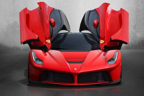 LaFerrari: Drift στη Monza