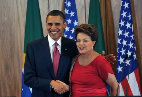 Ο Ομπάμα συνεχάρη την Ρούσεφ για την επανεκλογή της