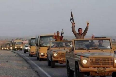 Πεσμεργκά από το Ιράκ κατευθύνονται προς το Κομπάνι