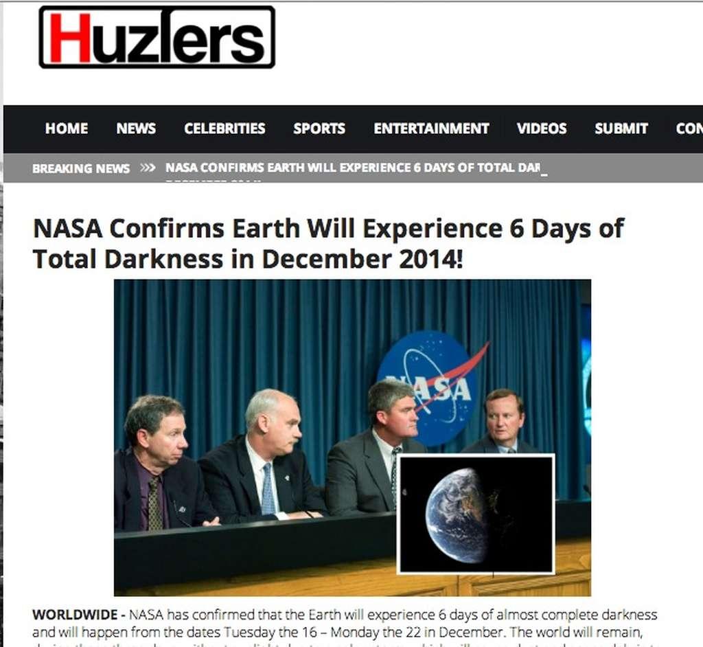 Πανικός στο διαδίκτυο: «Η γη θα μείνει στο σκοτάδι για έξι μέρες»