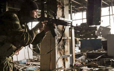 Επτά στρατιωτικοί και ένας πολίτης νεκροί στην αν. Ουκρανία
