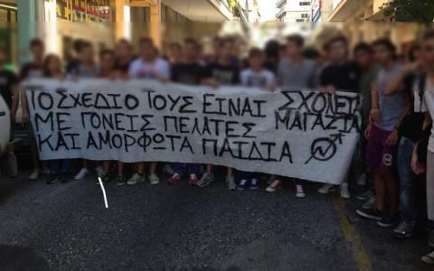 Διοργάνωση μαθητικoύ συλλαλητηρίου ενάντια στο «Νέο Λύκειο» στη Λαμία