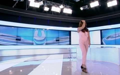 Η γκάφα της Τσαπανίδου on air και η αντίδραση της