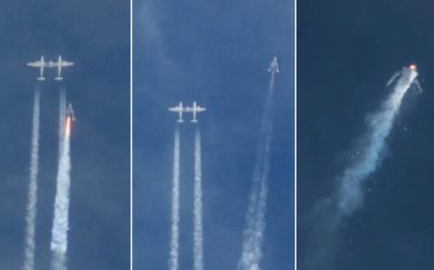 Virgin Galactic: Συνεχίζονται τα διαστημικά ταξίδια